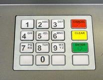 Cashpoint键盘 库存图片