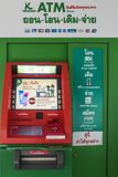 Cashpoint, ATM royalty-vrije stock foto