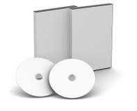 Casi di DVD - spazio in bianco Fotografia Stock