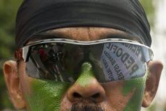 CASI SESSUALI DI VIOLENZA DEL BAMBINO IN AUMENTO DELL'INDONESIA Immagine Stock