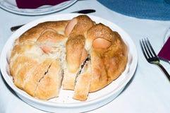 Casiatello: pasticceria napoletana tipica Immagini Stock