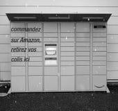 Casier d'Amazone à Lyon, France Photo stock