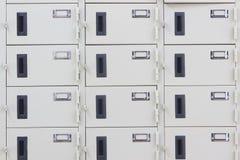 casiers Photo libre de droits