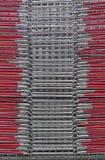 Casiers métalliques Image libre de droits
