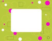Casilla blanca Imágenes de archivo libres de regalías