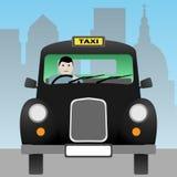 Casilla de taxi Fotografía de archivo