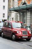 Casilla de taxi en Londres Fotos de archivo