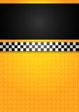 Casilla de taxi - modelo en blanco Foto de archivo
