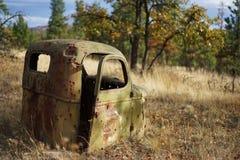 Casilla vieja del carro Imagen de archivo libre de regalías