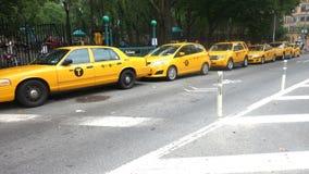 Casillas de New York City imagen de archivo