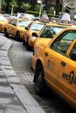 Casillas de taxi de Nueva York fotos de archivo libres de regalías