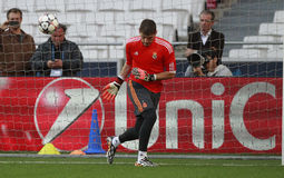 casillas iker Royaltyfria Foton