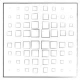 Casillas negras en un fondo blanco en un cuadrado libre illustration