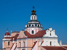 casimir教会立陶宛st维尔纽斯 免版税库存图片