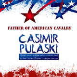Casimir Pulaski Day Photo libre de droits