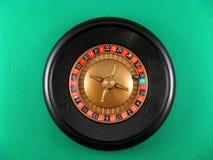 Casinò di gioco dei cubi e delle roulette Fotografia Stock Libera da Diritti