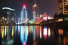 Casinò di Macao immagini stock