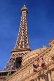 Casinò di Parigi, Las Vegas Immagine Stock
