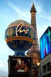Casinò di Parigi a Las Vegas, Nevada Immagine Stock Libera da Diritti