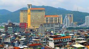 Casinò di Ponte 16 ed hotel, Macao Immagine Stock Libera da Diritti