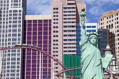 Casinò ed hotel di New York a Las Vegas, Nevada Immagine Stock