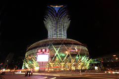 casinò, Macao, porcellana fotografia stock libera da diritti