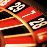Casinò, roulette fotografie stock libere da diritti