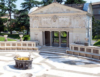 Casina Pio IV (Villa Pia) in Vaticanin a sunny day . Rome Royalty Free Stock Photos