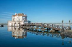 Casina Vanvitelliana - Bacoli, Napoli Royalty Free Stock Image