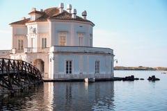 Casina vanvitelliana, Fusaro, Bacoli Royalty Free Stock Images