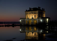 Casina Vanvitelliana. Fusaro lake, Naples, Italy Stock Photography