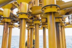 Casing. Use for oil well stock images