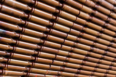 Casings are connected together Stock Photo