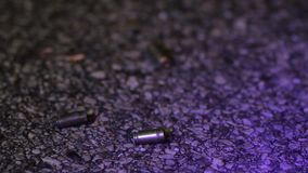 Casings at a crime scene. 1080p