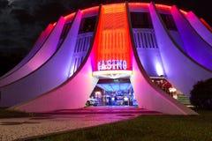 Casino à Funchal, Madère, Portugal Images libres de droits