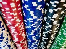 Casino �hips. Royalty Free Stock Photo
