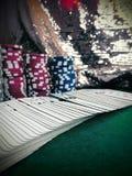 casino πόκερ Στοκ Φωτογραφία