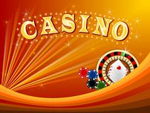 Casino 1 stock illustration