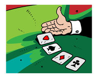 Casino. Additional vector format Illustrator 8 eps Royalty Free Stock Images