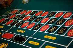 At casino 2 Stock Images