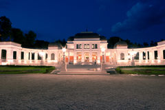 Casino. Image showing the newly restorated casino in Central Park, Cluj-Napoca, Romania stock photos