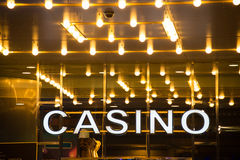 Casino photographie stock libre de droits