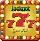 Casino 777 ilustração royalty free
