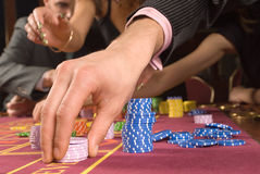 Casino Foto de Stock Royalty Free