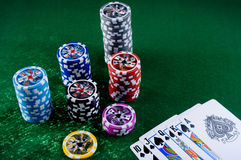 casino Στοκ εικόνες με δικαίωμα ελεύθερης χρήσης