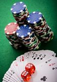 In the casino Stock Photography