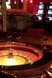 Casino. Roulette table. Shot from a session in a real casino stock image