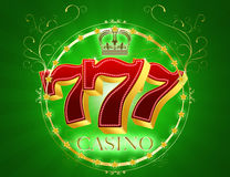 Casino 777 Photos stock