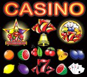 Casino. Elements high detail vector Royalty Free Stock Images