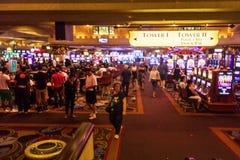 Casino apretado imágenes de archivo libres de regalías